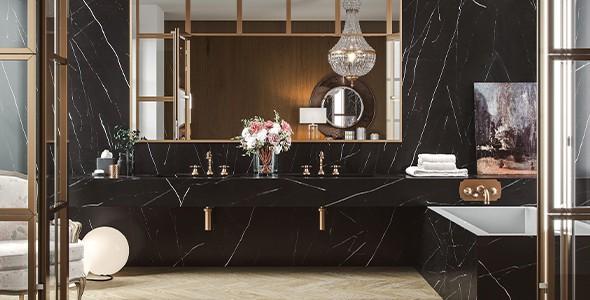 natural marble black