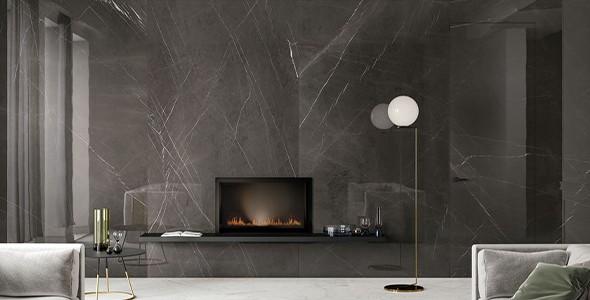natural marble gray
